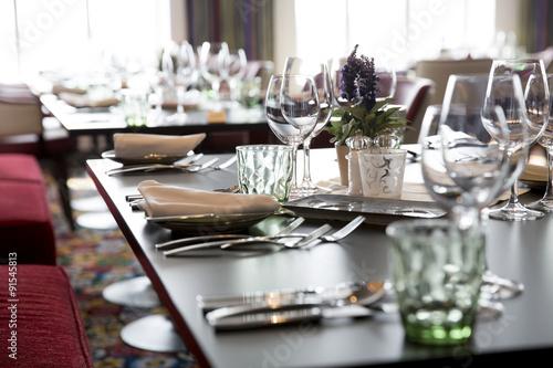 Foto op Canvas Restaurant Restaurant