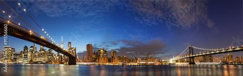 Foto op Aluminium New York New York City Manhattan skyline panorama