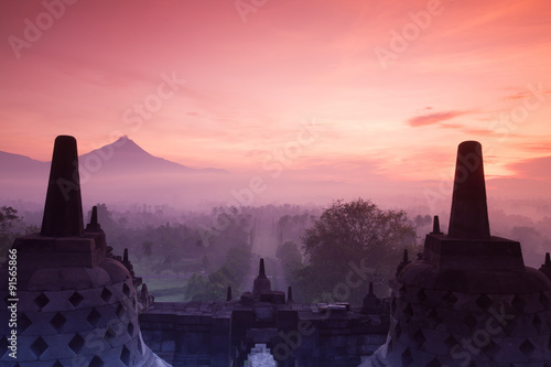 Cadres-photo bureau Monument Sunrise of Borobudur Temple, Yogyakarta