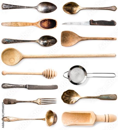 Valokuvatapetti kitchenware