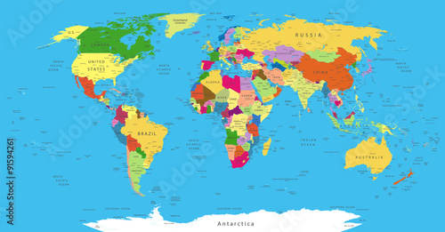 Political World Map