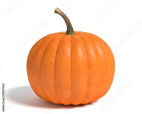 Fotografie, Obraz  3d illustration of a pumpkin