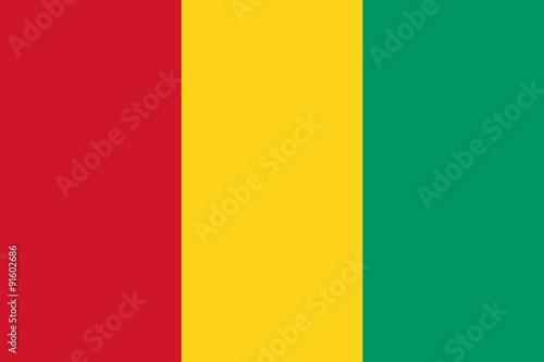 Fotografía Flag of Guinea