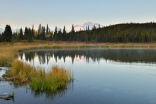 Denali Mountain And Wonder Lak...