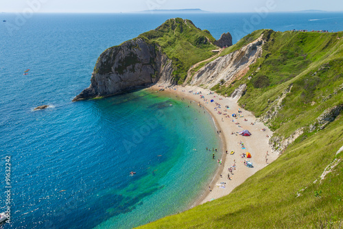 Lulworth Cove Durdle Door Cornwall England Poster