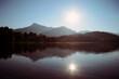 Kitzbüheler Schwarzsee im Gegenlicht