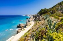 Coast Pathway In Rhodes