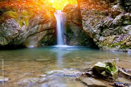 Photo sur Toile Cascade waterfall