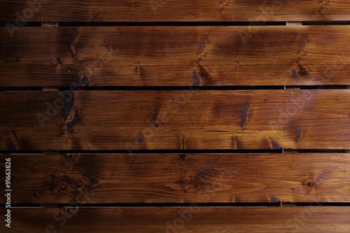 Fototapeta drewniane brązowe deski obraz