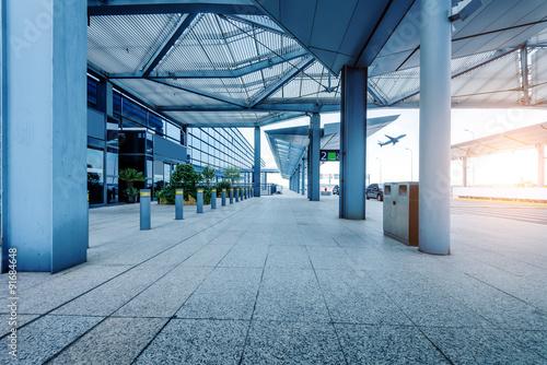 Airport Terminal Canvas Print