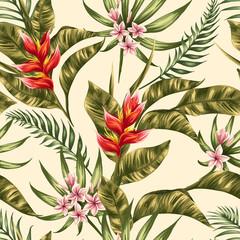 fototapeta flora wzory