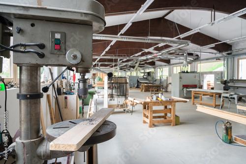 Obraz joinery or carpentry workshop - fototapety do salonu