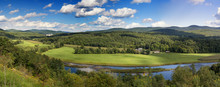 Vermont Countryside Panorama.