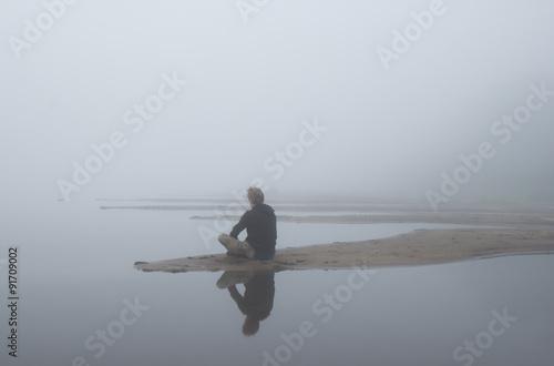 Fotografija  Туман над водой
