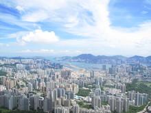 Hong Kong View From Lion Rock