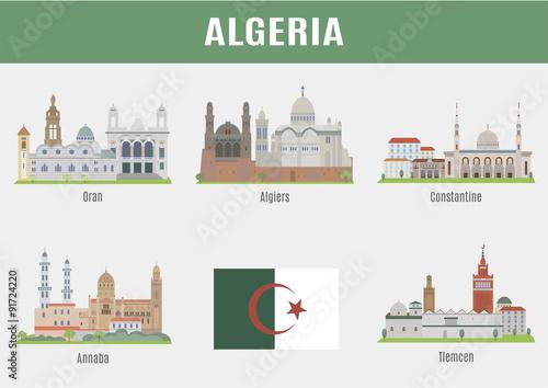 Photo Cities in Algeria