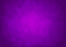 Purple Modern Abstract Background With Triangular Shapes