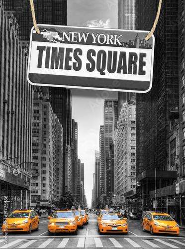 Plakat Nowy Jork w twoim salonie