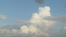 Giant Thunderheads Form In This Beautiful Time Lapse Shot.