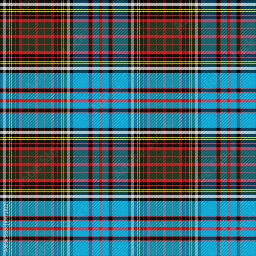 Tartan Clan Anderson seamless pattern Wallpaper Mural