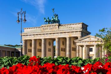 Fototapeta Brandenburg Gate (Brandenburger Tor), Berlin