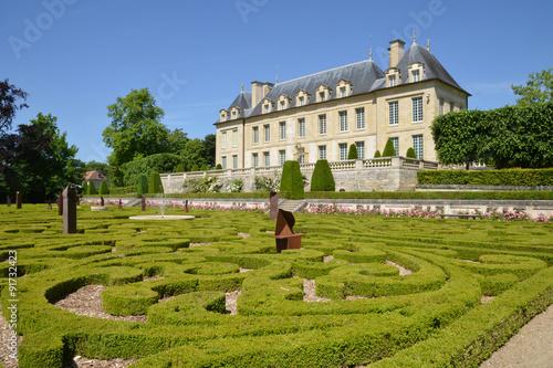 France, the picturesque village of Auvers sur Oise Canvas Print