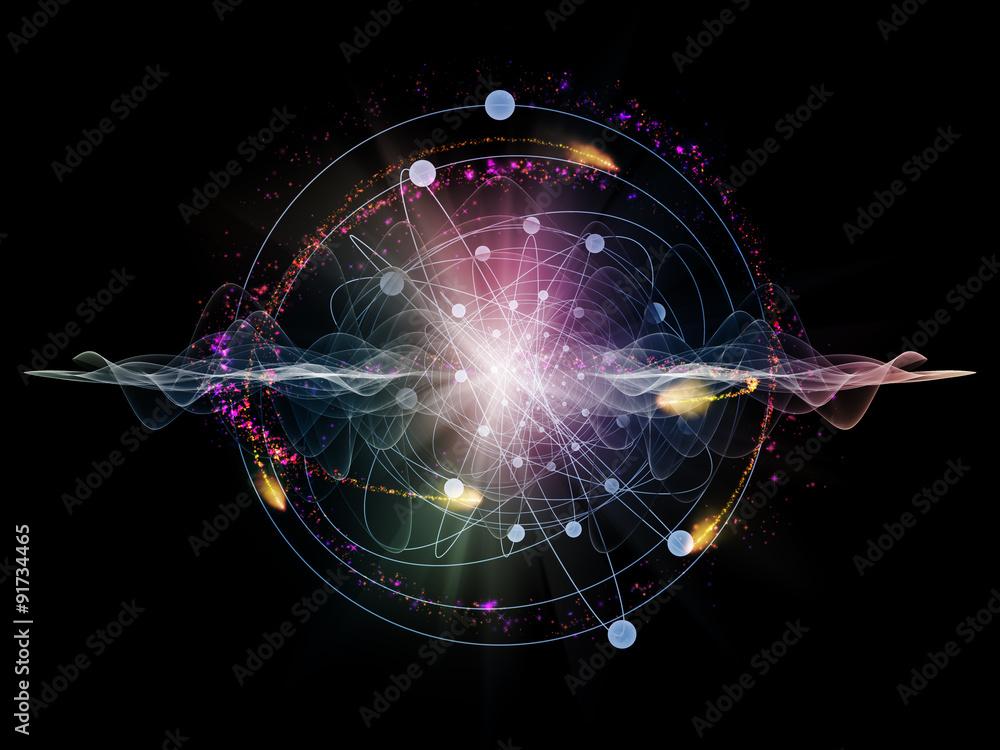 Fototapeta Atom