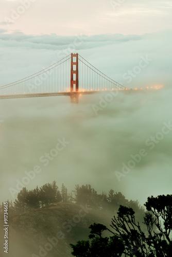 Golden Gate Bridge Plakat