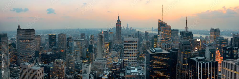 Fototapety, obrazy: New York City skyscrapers