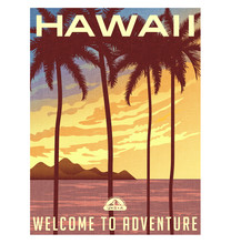 Retro Style Travel Poster Or S...