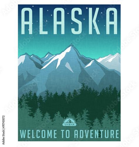 seria-plakat-podroz-w-stylu-retro-stany-zjednoczone-alaska-gorski-krajobraz