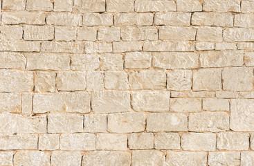fototapeta kamienny mur beżowy stara cegła