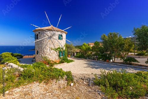 Aluminium Prints Mills Old windmill on Zakynthos island, Greece