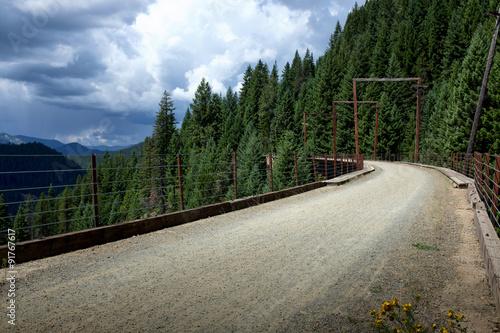 Vászonkép Trestle on the Trail