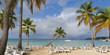 The paradise on the beach