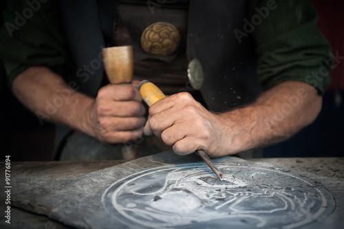 Fotomural  artesanía