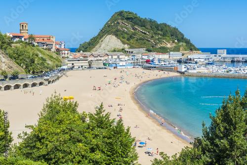 Fotografie, Obraz  Town of Getaria, Basque Country (Spain)