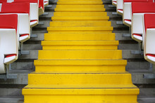 Steps Between The Stands At Th...