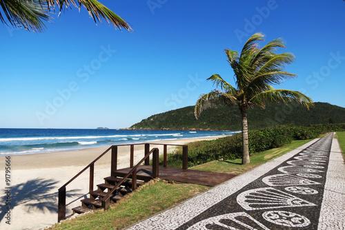 Tablou Canvas Praia Brava - Florianópolis, Santa Catarina - Brasil