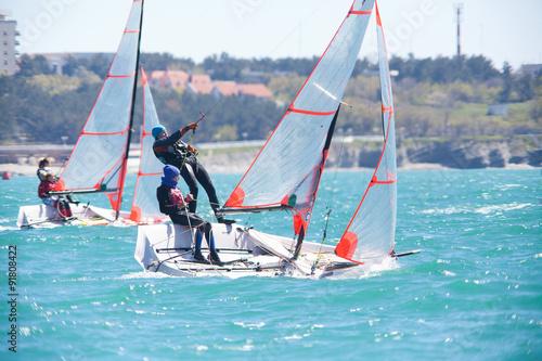 Fotografía sailing regatta