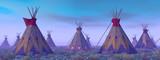 Indian Camp at Dawn