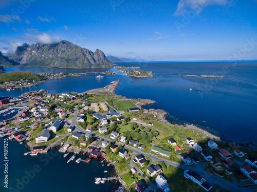 Fototapety, obrazy: Reine on Lofoten