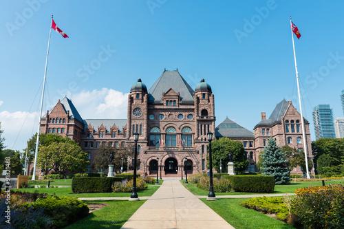 Deurstickers Toronto Legislative Assembly of Ontario in Toronto, Canada