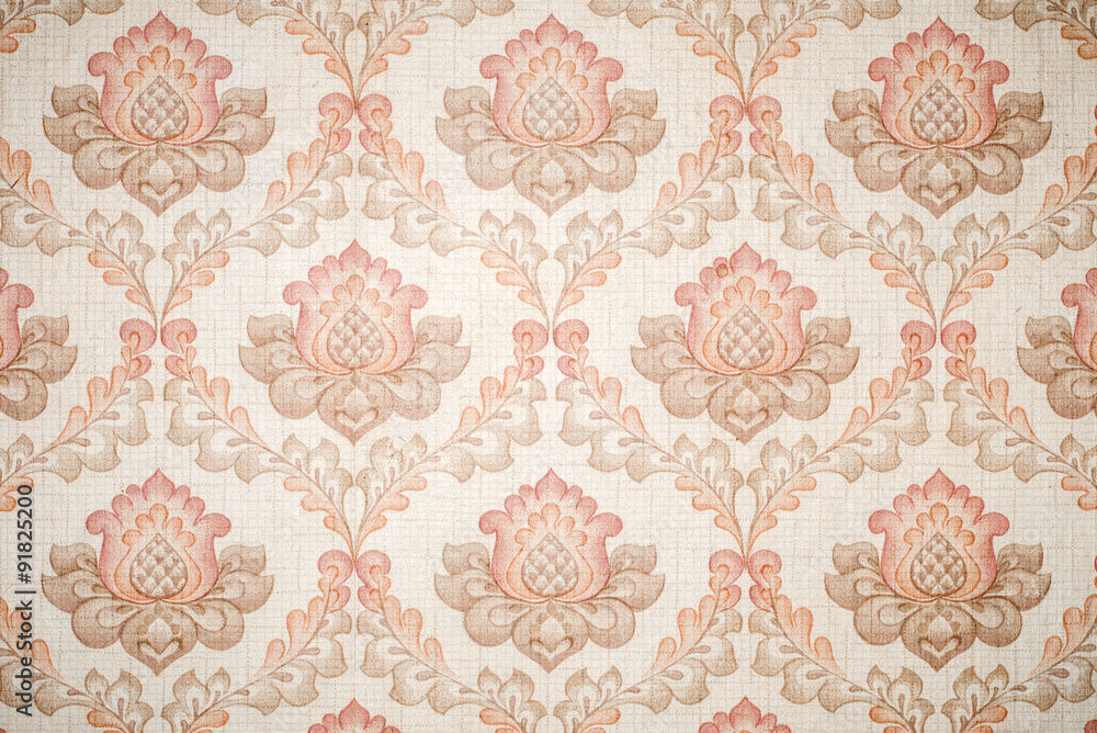 Fototapety, obrazy: Paper wallpaper with textured patterns