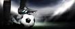 Leinwandbild Motiv Soccer