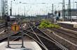Railway train station