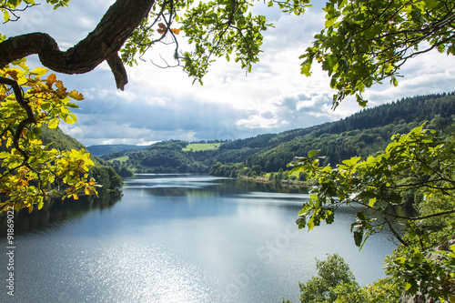 Fotografia  Piękne widoki krajobrazowe wokół Rursee