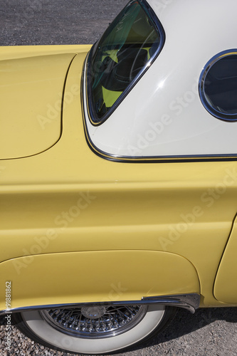 фотография  Dornbirn, Austrian, 12 June 2011: Rear detail of Ford Thunderbir