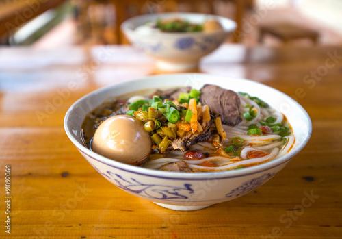 Foto op Aluminium Guilin guilin rice noodles