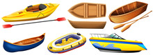 Different Kind Of Boats